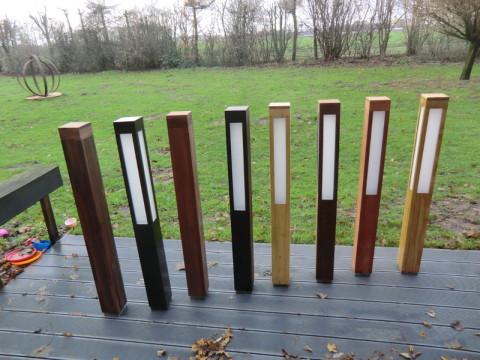 Amerikanisch Nußbaum, Thermo-Buche, Robinie gedämpft, Thermo-Eiche, Robinie hell, Thermo-Pappel, Red Cedar, Accoya